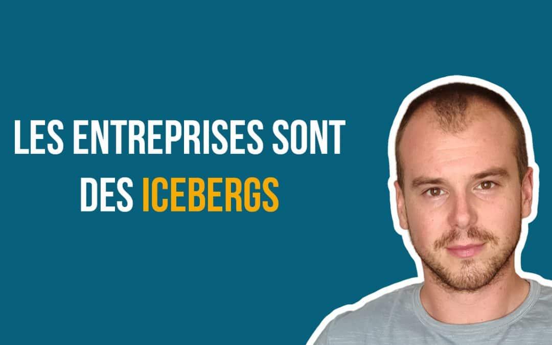 Les entreprises sont des icebergs (vignette)