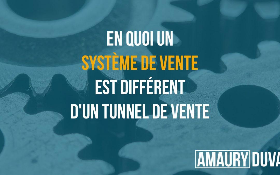 En quoi un système de vente est différent d'un tunnel de vente (vignette)