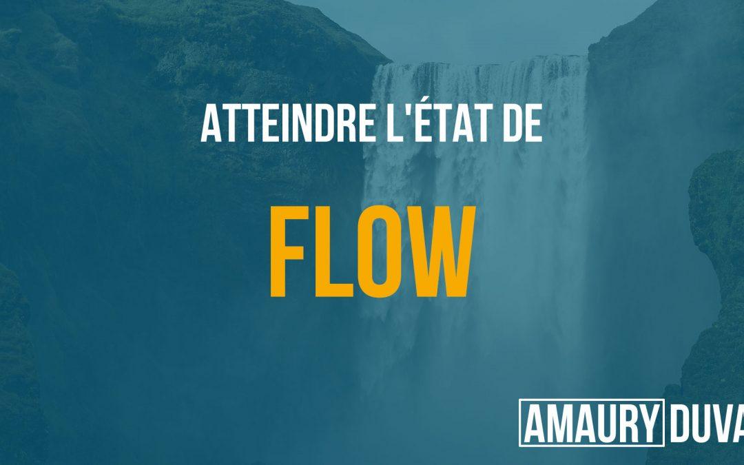 Atteindre l'état de flow, be in the zone (vignette)