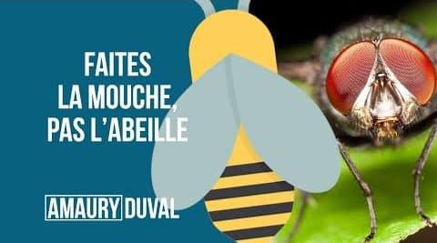 Faites la mouche, pas l'abeille (vignette)